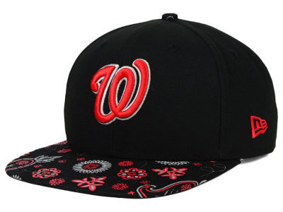Washington Nationals New Era MLB Paisley Time 9FIFTY Snapback Cap