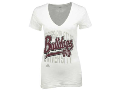 Mississippi State Bulldogs adidas NCAA Women's Script Tail Shadow T-Shirt