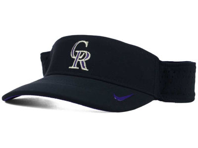 Colorado Rockies Nike MLB Vapor Visor