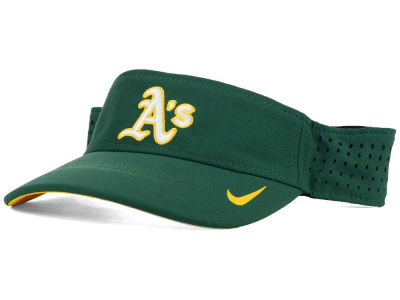 Oakland Athletics Nike MLB Vapor Visor