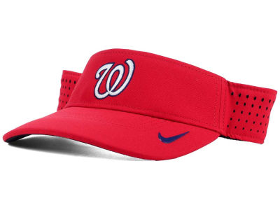 Washington Nationals Nike MLB Vapor Visor
