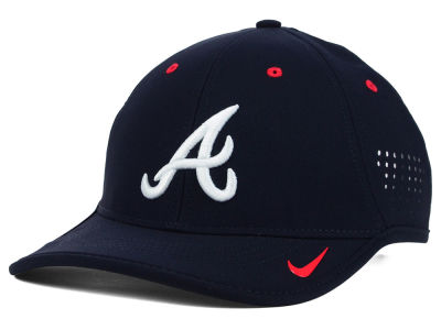 Atlanta Braves Nike MLB Vapor Swoosh Adjustable Cap