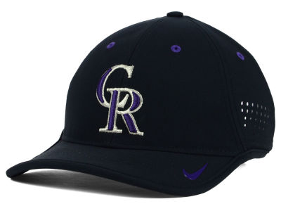Colorado Rockies Nike MLB Vapor Swoosh Adjustable Cap