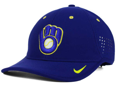 Milwaukee Brewers Nike MLB Vapor Swoosh Adjustable Cap