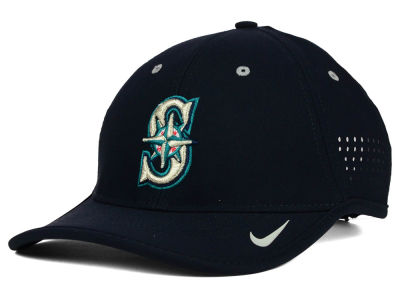 Seattle Mariners Nike MLB Vapor Swoosh Adjustable Cap