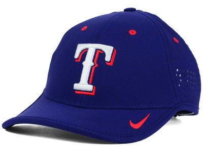 Texas Rangers Nike MLB Vapor Swoosh Adjustable Cap