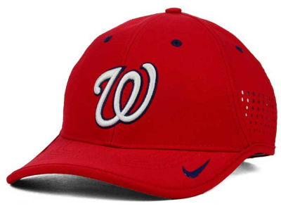 Washington Nationals Nike MLB Vapor Swoosh Adjustable Cap