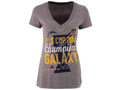 LA Galaxy adidas MLS Women's 2014 Champion T-Shirt