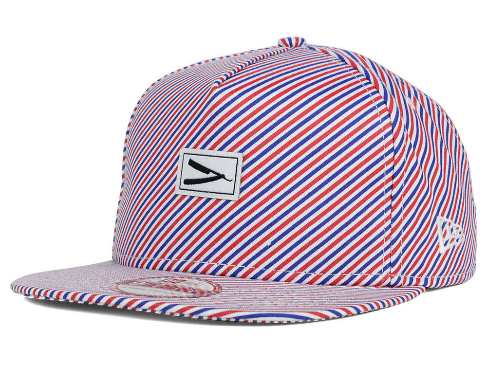 f3054246bbd Barber Pole Stripe 9FIFTY Strapback Cap