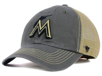 Miami Marlins '47 MLB Santa Lucia '47 CLEAN UP Cap