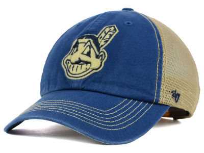 Cleveland Indians '47 MLB Santa Lucia '47 CLEAN UP Cap