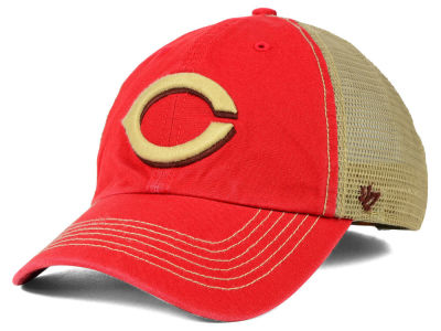 Cincinnati Reds '47 MLB Santa Lucia '47 CLEAN UP Cap