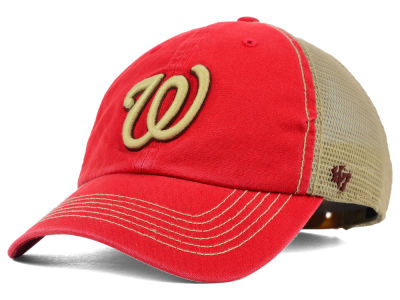 Washington Nationals '47 MLB Santa Lucia '47 CLEAN UP Cap