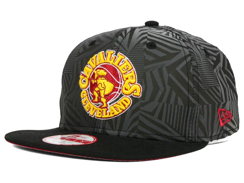 d487075033f Cleveland Cavaliers New Era NBA HWC Reflect A-Lines 9FIFTY Snapback Cap