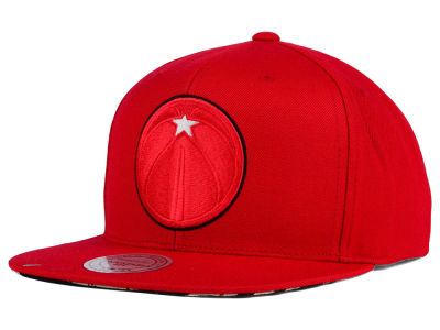 Washington Wizards Mitchell and Ness NBA Apple Red Goat Snapback Cap