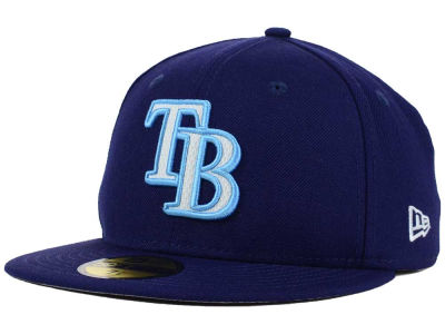 Tampa Bay Rays New Era MLB Logo Lush 59FIFTY Cap