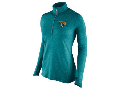 Jacksonville Jaguars Nike NFL Women's Stadium Element 1/4 Zip Pullover Shirt