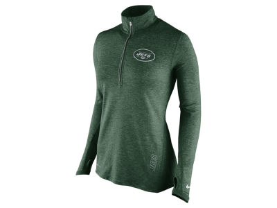New York Jets Nike NFL Women's Stadium Element 1/4 Zip Pullover Shirt