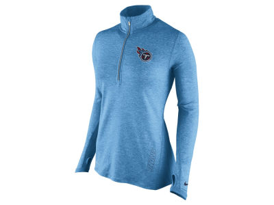 Tennessee Titans Nike NFL Women's Stadium Element 1/4 Zip Pullover Shirt