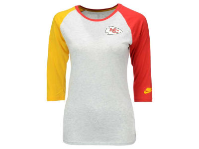 Kansas City Chiefs Nike NFL Women's Strong Side 3/4 Sleeve T-Shirt