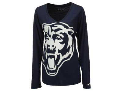 Chicago Bears Nike NFL Women's Logo Wrap Long Sleeve T-Shirt
