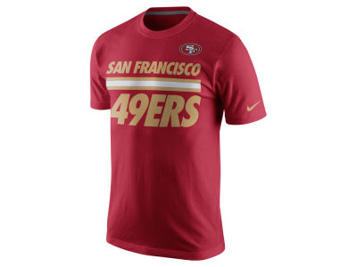 San Francisco 49ers Nike NFL Men's Team Stripe T-Shirt
