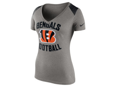 Cincinnati Bengals Nike NFL Women's Stadium Football T-Shirt