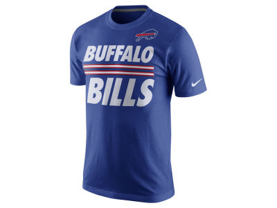 Buffalo Bills Nike NFL Men's Team Stripe T-Shirt