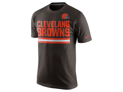Cleveland Browns Nike NFL Men's Team Stripe T-Shirt