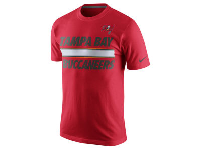 Tampa Bay Buccaneers Nike NFL Men's Team Stripe T-Shirt