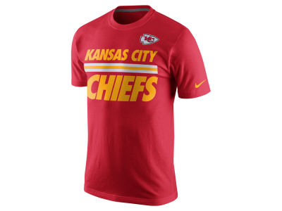 Kansas City Chiefs Nike NFL Men's Team Stripe T-Shirt