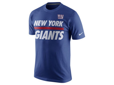New York Giants Nike NFL Men's Team Stripe T-Shirt