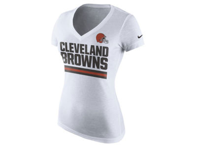 Cleveland Browns Nike NFL Women's Team Stripe T-Shirt