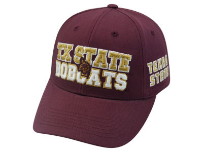 Texas State Bobcats 2 for $28 Top of the World NCAA Teamwork Cap