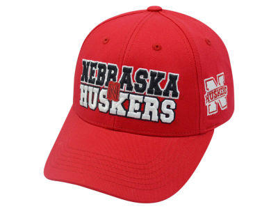 Nebraska Cornhuskers 2 for $28 Top of the World NCAA Teamwork Cap