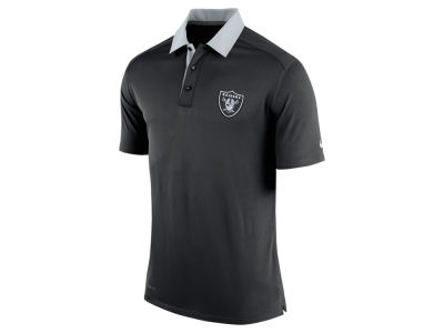 Oakland Raiders Nike NFL Elite Coaches Polo Shirt
