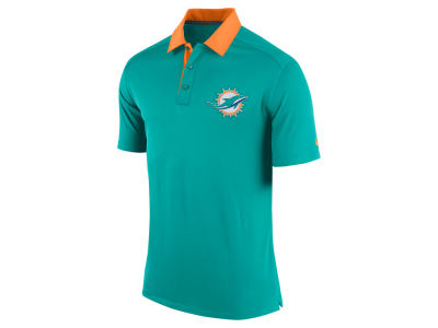 Miami Dolphins Nike NFL Elite Coaches Polo Shirt