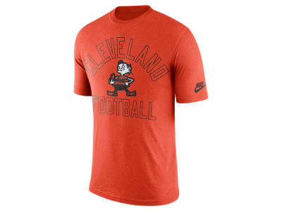 Cleveland Browns Nike NFL Men's Tri Retro Logo T-Shirt