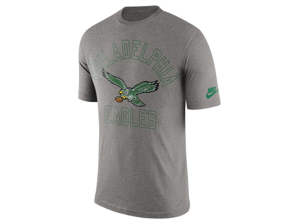 Philadelphia Eagles Nike NFL Men s Tri Retro Logo T-Shirt  775813ef1