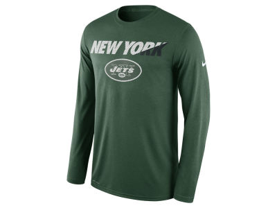 New York Jets Nike NFL Men's Legend Staff Practice Long Sleeve T-Shirt