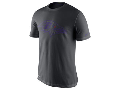 Baltimore Ravens Nike NFL Men's Team Travel Dri-Fit Cotton T-Shirt