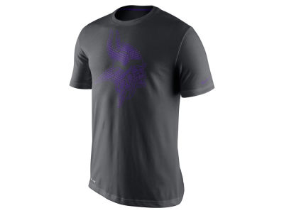 Minnesota Vikings Nike NFL Men's Team Travel Dri-Fit Cotton T-Shirt