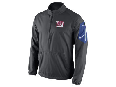 New York Giants Nike NFL Men's Lockdown Half Zip Jacket