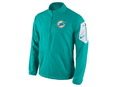 Miami Dolphins Nike NFL Men's Lockdown Half Zip Jacket