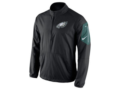 Philadelphia Eagles Nike NFL Men's Lockdown Half Zip Jacket