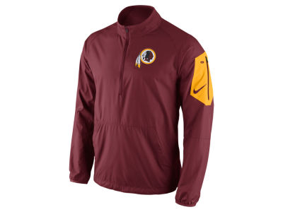 Washington Redskins Nike NFL Men's Lockdown Half Zip Jacket