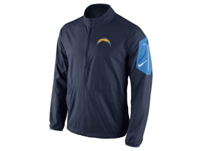 San Diego Chargers Nike NFL Men's Lockdown Half Zip Jacket