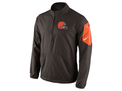 Cleveland Browns Nike NFL Men's Lockdown Half Zip Jacket