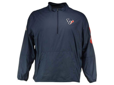 Houston Texans Nike NFL Men's Lockdown Half Zip Jacket