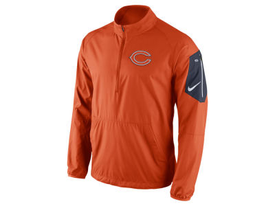 Chicago Bears Nike NFL Men's Lockdown Half Zip Jacket